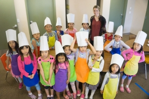 2016 Summer Camp - 1st-2nd Grade Cooking Camp